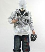 бесплатная доставка сзт мужчины на молнии спортивное хип-хоп куртка с длинными рукавами одежда м / L / хl / ххl