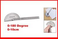0 - 10 см правитель 180 град. средств измерения вращающийся инструмент протракторы