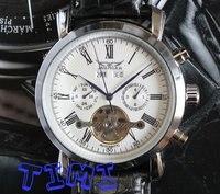 белый rosh армии фон automaical механик форма мужские наручные часы