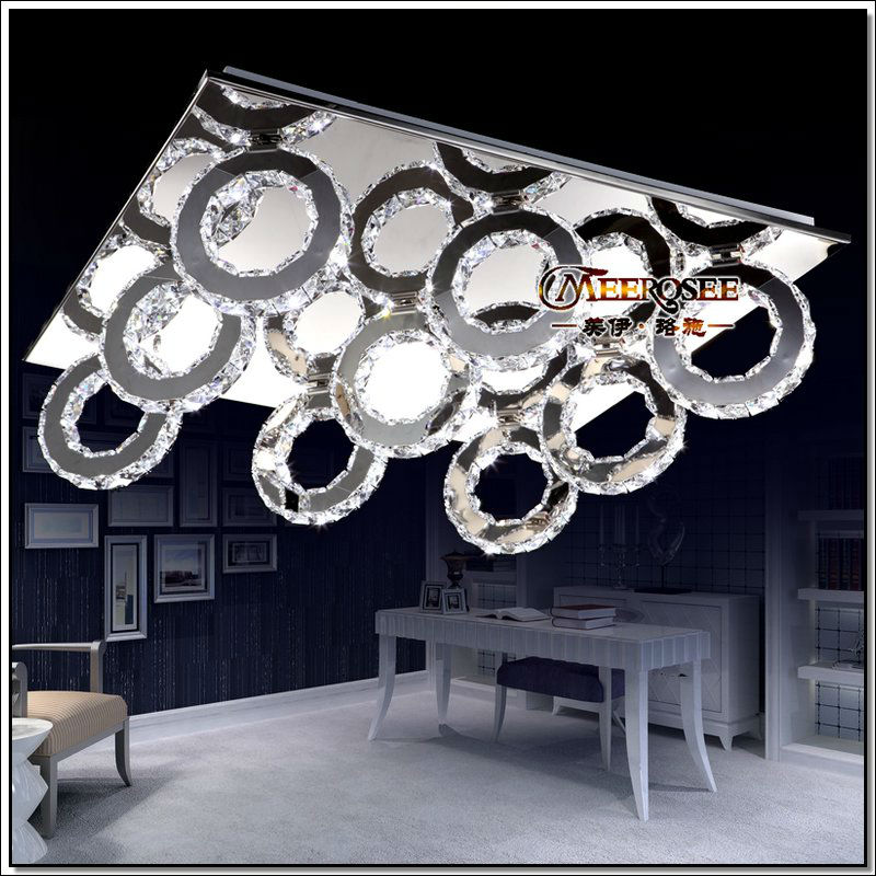 Modern Led Crystal Ceiling Light Ing Pendelleuchte Lamp Free Shipping Md88038 In Lights From Lighting On Aliexpress