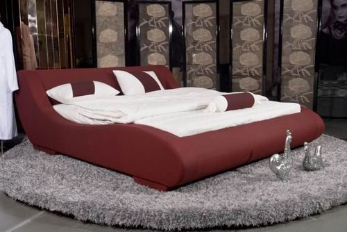 Soft bed,fabric bed model 8261