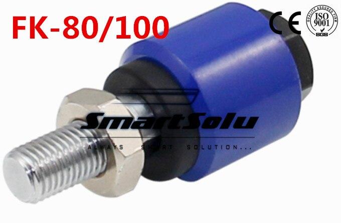 Livraison Gratuite FK-80/100 M20X1.5 ISO6431 cylindre attachement, flottant joints, commune UJ, F connecteur, ISO-UJ Type Float Jiont