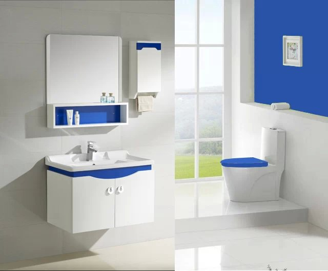 modern pvc cabinet design color bathroom cabinets 0283 105 - Bathroom Cabinet Design