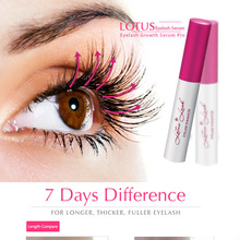Hot Sale 20 pcs BRANDED 7 DAYS natural eyelash growth serum for a longer, thicker and fuller eyelash 100% EFFECTIVE free ship