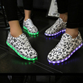 Led luminous women shoes solid color fashion 2016 new light ladies shoes women shoes