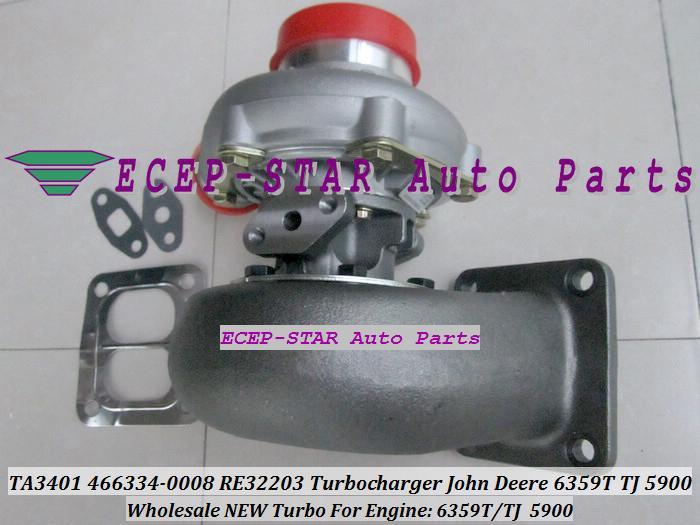 TA3401 466334 466334-0008 RE32203 Turbo turine turbocharger Fit For John Deere 6359T TJ 5900.JPG
