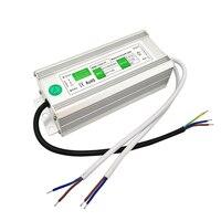 80 W LEVOU fonte de Alimentação 12 V 6.6A IP67 À Prova D' Água led driver AC110 260V interruptor DC 12 V Adaptador de Energia Para 5050 3528 Tira CONDUZIDA|led adapter|adapt picture|adapter cooler -