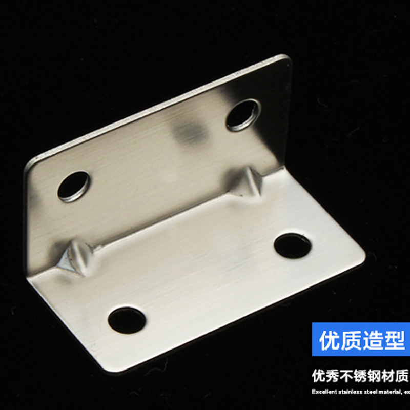 1 Pair 40*20mm Thickness 1mm Stainless steel angle yards bracket rectangular square L-shaped right angle connector bracket от Aliexpress INT