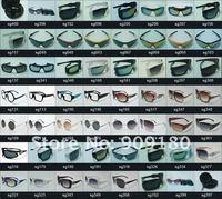 подошва дизайнер очки мужчины в женщины в очки металл серебро очки защита от ультрафиолетового лука 188