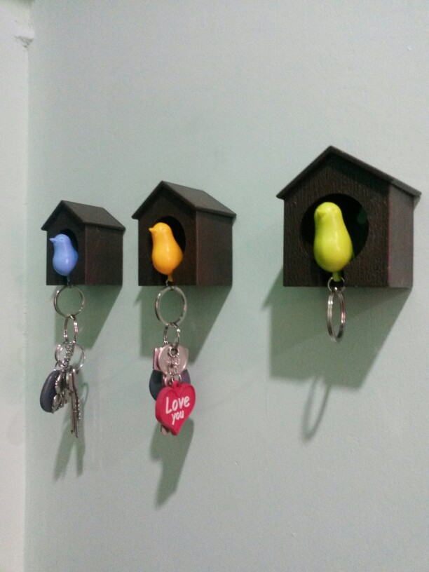 Домики-брелки для ключей с Алиэкспресс