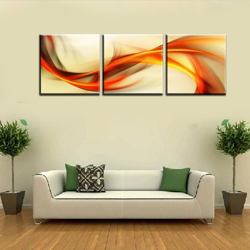 New Free Shipping 3 Piece Wall Art Big Size 50cm50cm Home Decor