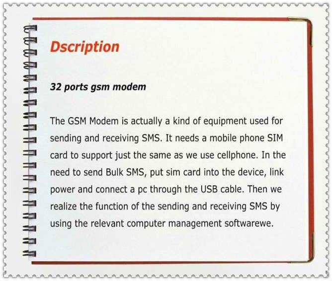 Antecheng прямые продажи с фабрики 32 портов модемный пул GSM квад mc55i Смс модем для sms