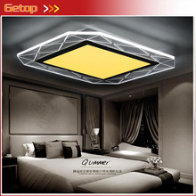 ZX Modern Acryl LED Ceiling Lamp Ultrathin Square Circular LED Chip Light Fixture Parlor Bedroom Restaurant