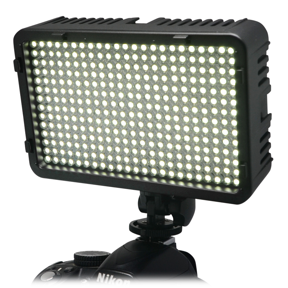 Mcoplus 322 LED Photo Studio Video Light for Canon Nikon Panasonic Pentax Samsung Olympus & DV Camcorder Digital SLR Camera godox led 308y 308 leds professional led video 3300k light with remote control for canon nikon camera dv camcorder