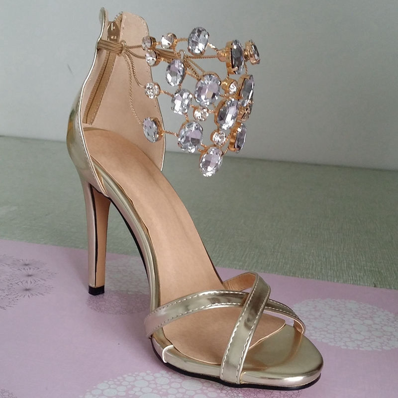 heel accessories Picture - More Detailed Picture about Gold/Silver ...