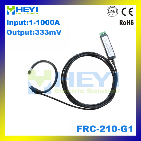 цена на ac current measurement flexible rogowski coil Input : 1~1000A Output : 333mV FRC-210-G1 Mini rogowski probe