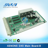 Printer plate xenons main board for dx5 printhead 2.13 version
