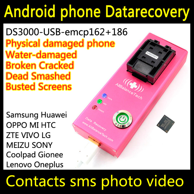 US $128 0  Dead android phone Chip off data restore DS3000 USB3 0  emcp162+186 tool for Dopod Retrieve contacts SMS Photos DATA FORENSIC-in  Connectors