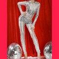 2016 Sexy Club Jumpsuits Gold Black Sliver Women Wet Look Jumpsuit Bodysuit Wholesale Price Sexy Vinyl Women Catsuit Jumpsuit