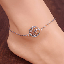 Sunshine Vintage tree anklet for women girl jewelry JL002