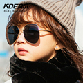 KDEAM Classic Pilot Sunglass Super Quality Fashion Kids Sunglasses Colorful Reflective Coating Eyewear Baby Outdoor Sun Glasses