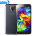 """Abierto original samsung galaxy s5 i9600 teléfonos celulares 5.1 """"super amoled quad core 16 gb rom nfc teléfono móvil restaurado"""