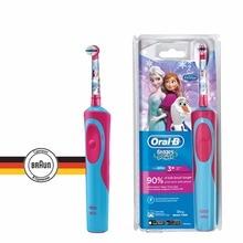 Детская электрическая зубная щетка Oral-B Vitality Frozen