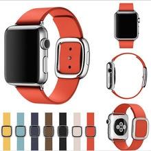 Новинка премиум качества в современном стиле натуральная кожа часы для Apple , часы все модели 38 мм 42 мм