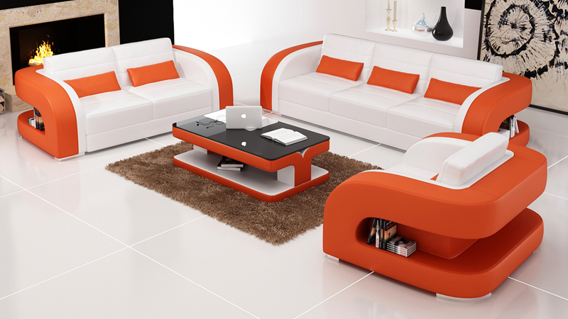 Design Royal Furniture 8 Seater Sofa Set In Living Room
