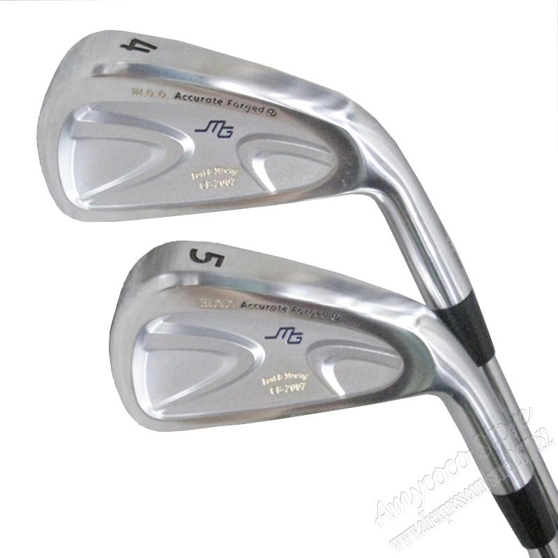 New mens Cooyute Golf Clubs Miura CB-2007 Golf Irons set 4-9.P Project 5.5 Steel Golf shaft Irons clubs set Free shipping