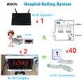 Botão de chamada de emergência de chamada de enfermeira Buzzer sistema de chamada sem fio enfermeira do Hospital de chamada paciente transmissor alongado cabo