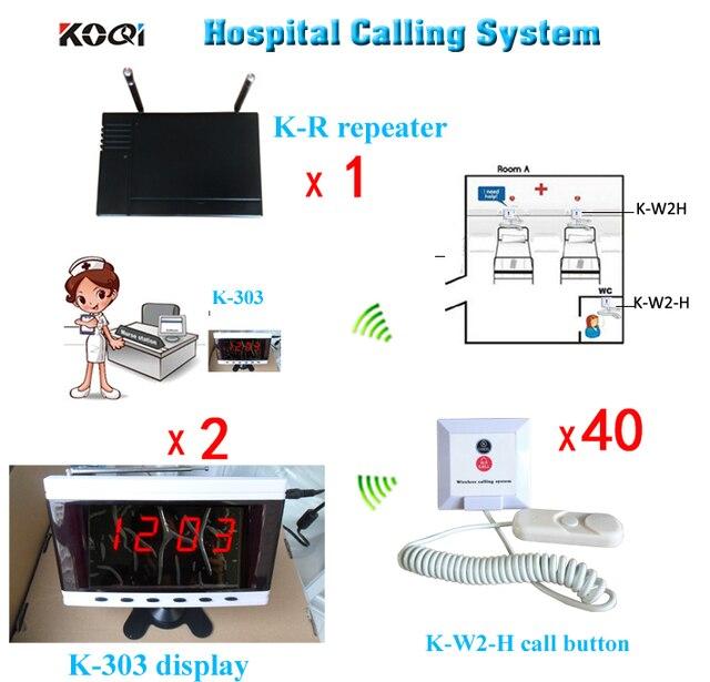 Emergency Call Button Nurse Call Buzzer Hospital Wireless
