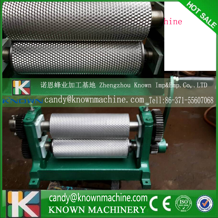 86*250mm Manual  cell size 4.9mm Beeswax foundation mold machine 86 250mm competitive price bees wax foundation machine