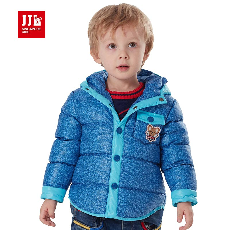 2015 baby winter coat cotton padded jacket infant warm hooded outerwear clothes thicking wadded jacket children
