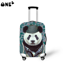 2016ONE2 new design travel luggage suitcase protective cover for student portable luggage covers rain cover wholesale