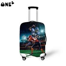 ONE2 neue design kühle reisegepäck abdeckung spandex material koffer abdeckung muster beliebte kinder benutzerdefinierte gepäck abdeckung
