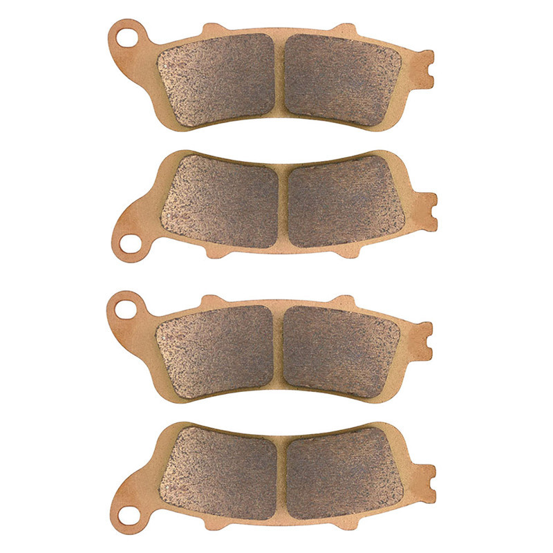 Motorcycle Front & Rear Brake Pads For Honda VFR800 VFR 800 FI interceptor 1998-2005 99 00 01 02 03 04 Brake Disks