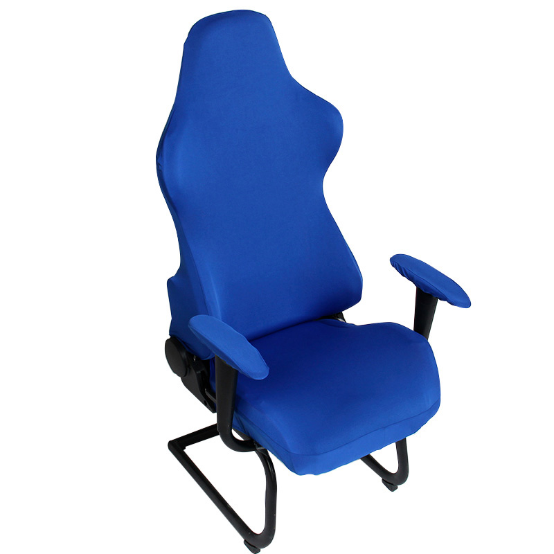 Hot !!! Office Chair Covers Spandex Seat Chair Covers Dining Computer Chair Covering Slipcovers Stretch Rotating Armchair Cover