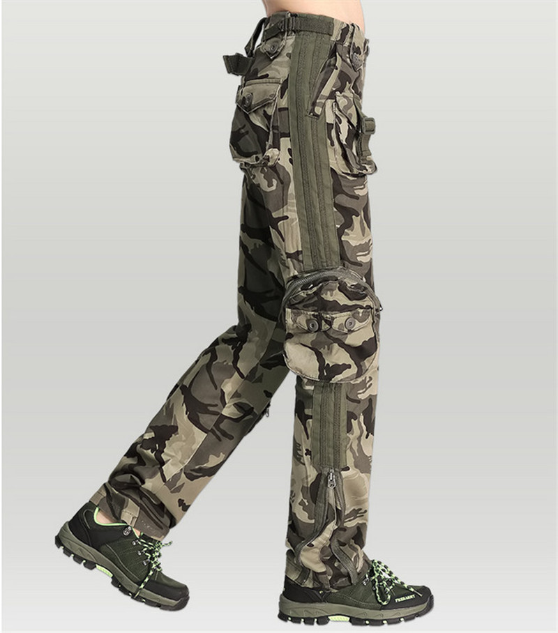 39a31f9b63c47 Fashion Womens Camouflage Pants Women s Army Cargo Pencil Pant ...