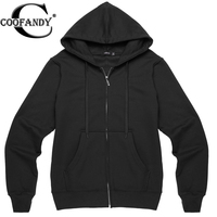 COOFANDY hooded jacket  Red, Gray, Black Us size S,M,L,XL for men Casual winter autumn basic Sweatshirt coat