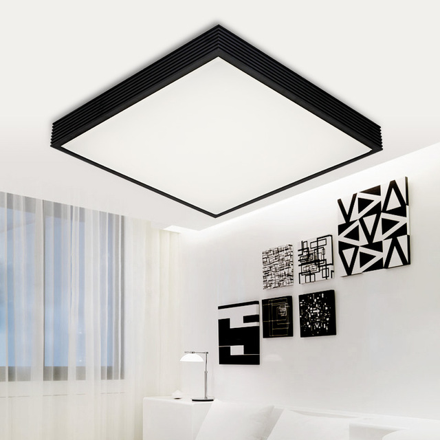 Modern Surface Mounted LED Ceiling Light Square Cm For Kitchen - Square kitchen ceiling lights