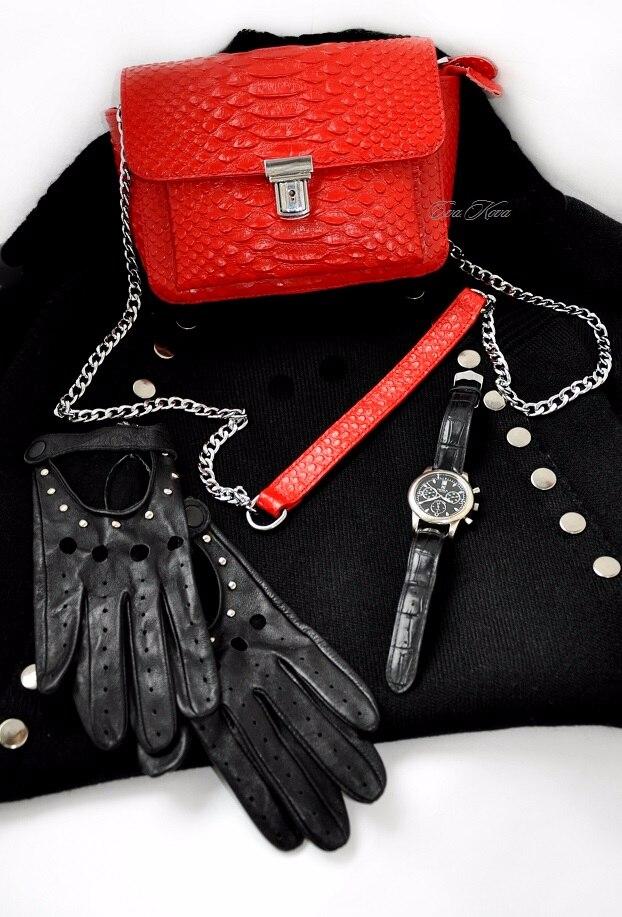 Шикарная красная сумка с Алиэкспресс