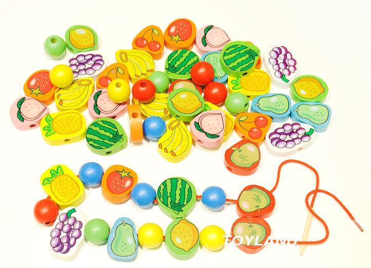 meyve seti oyuncak ahşap 8