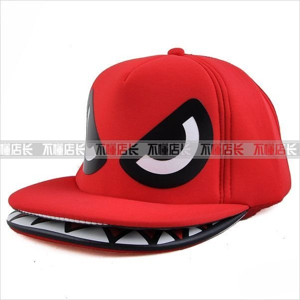 New 100% +Free Shipping +Super Cool Shark Mouth 0d491f7f189