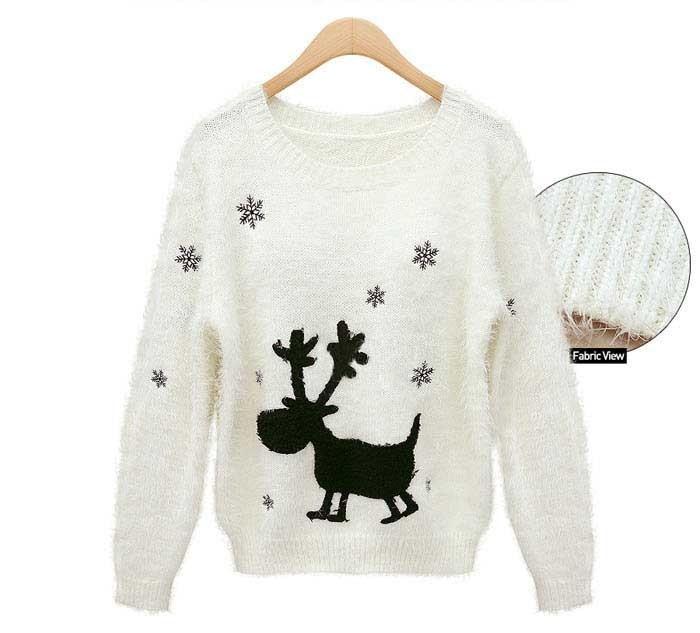 1067366291 156923529. winter geometric sweater 2014 pullover daisy flower cute  female print sweaters for women ... 297fc7cef