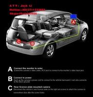 ПЗС HD качестве ночь технического зрения вид сзади автомобиля камера заднего вида монитор система помощи при парковке для передней универсальная камера заднего вида камеры водонепроницаемый