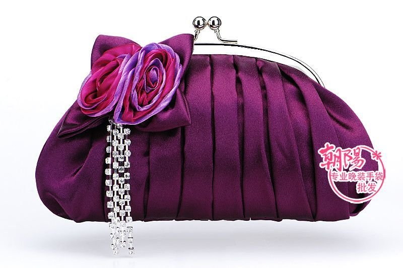 e33b55608446 WB1111 2010 hot sale satin colorful and beautiful bridal bags night bags  ladies  handbags wedding bags on Aliexpress.com