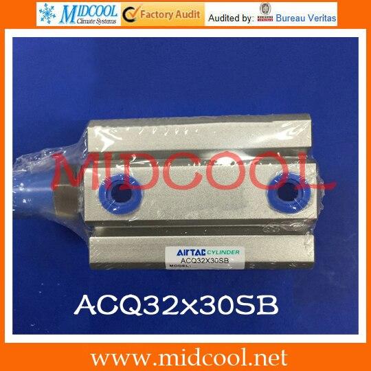 Original AirTAC Compact cylinder ACQ ACQ32x30SB mochu 22324 22324ca 22324ca w33 120x260x86 3624 53624 53624hk spherical roller bearings self aligning cylindrical bore