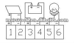 15A 12 V/24 V ШИМ, интеллектуальная регулятором солнечного заряда и регулятор разряда- под промо-Акция