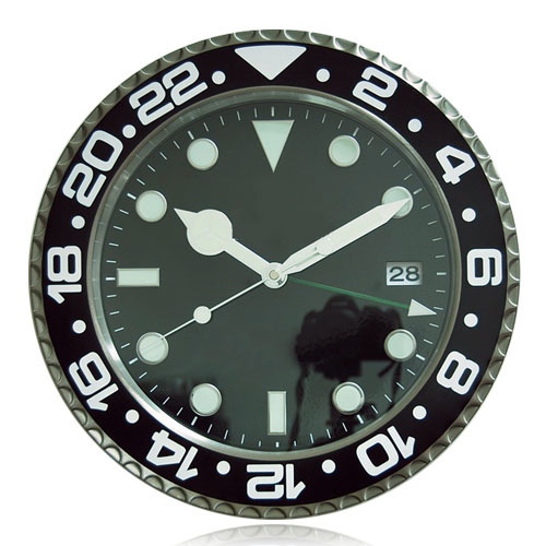 Holy Cats Luxury Wall Decoration Stainless Steel Metal Wall font b Watch b font Clock Branded